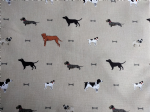 Sophie Allport Woof Dogs Fabric